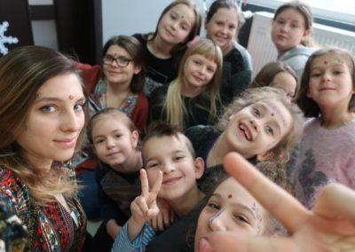 Mirella z dziećmi